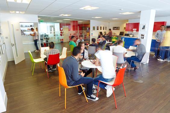 Scuola di lingua LILA Liverpool sala studenti