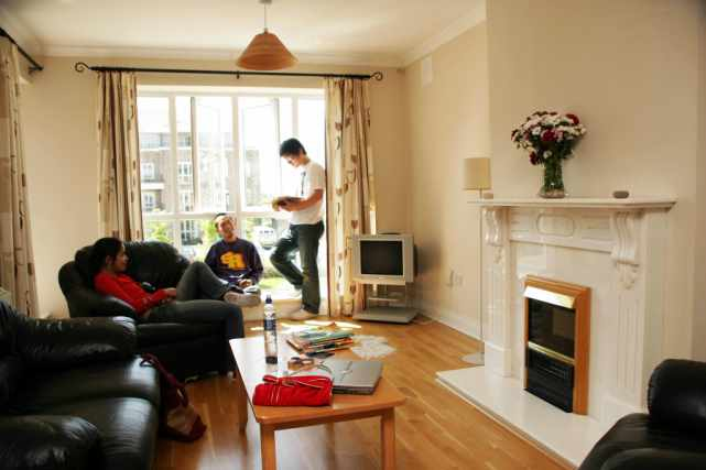 Altantic Galway Gort na Coiribe living room