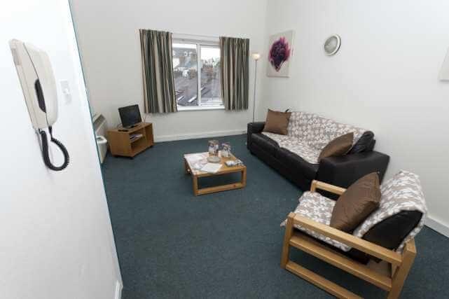 CEC Cork Accommodation Residence Living room