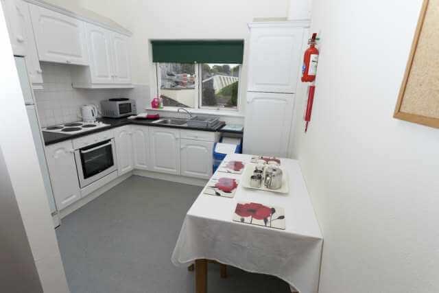 CEC Cork Accommodation Residence kitchen