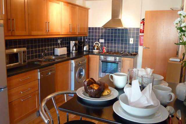 CEC Cork Appartamento privato Kitchen