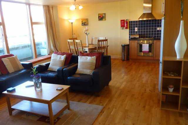 CEC Cork Appartamento privato living room