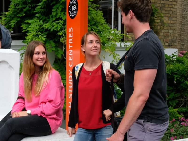 Brighton - Junior Programme - Studenti al Break