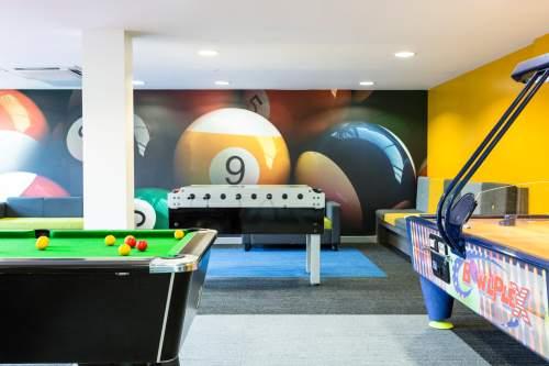 Viaggio Studio Ragazzi Manchester snooker Area
