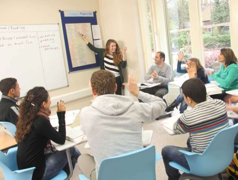 Classe Inglese Scuola IH Bristol