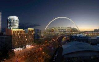 Wembley EC London 30 Panorama