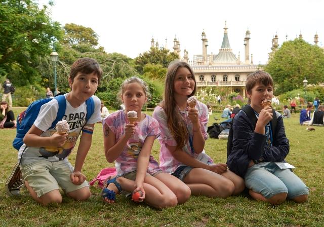 Viaggio studio per famiglie Brighton con alloggio in Famiglia